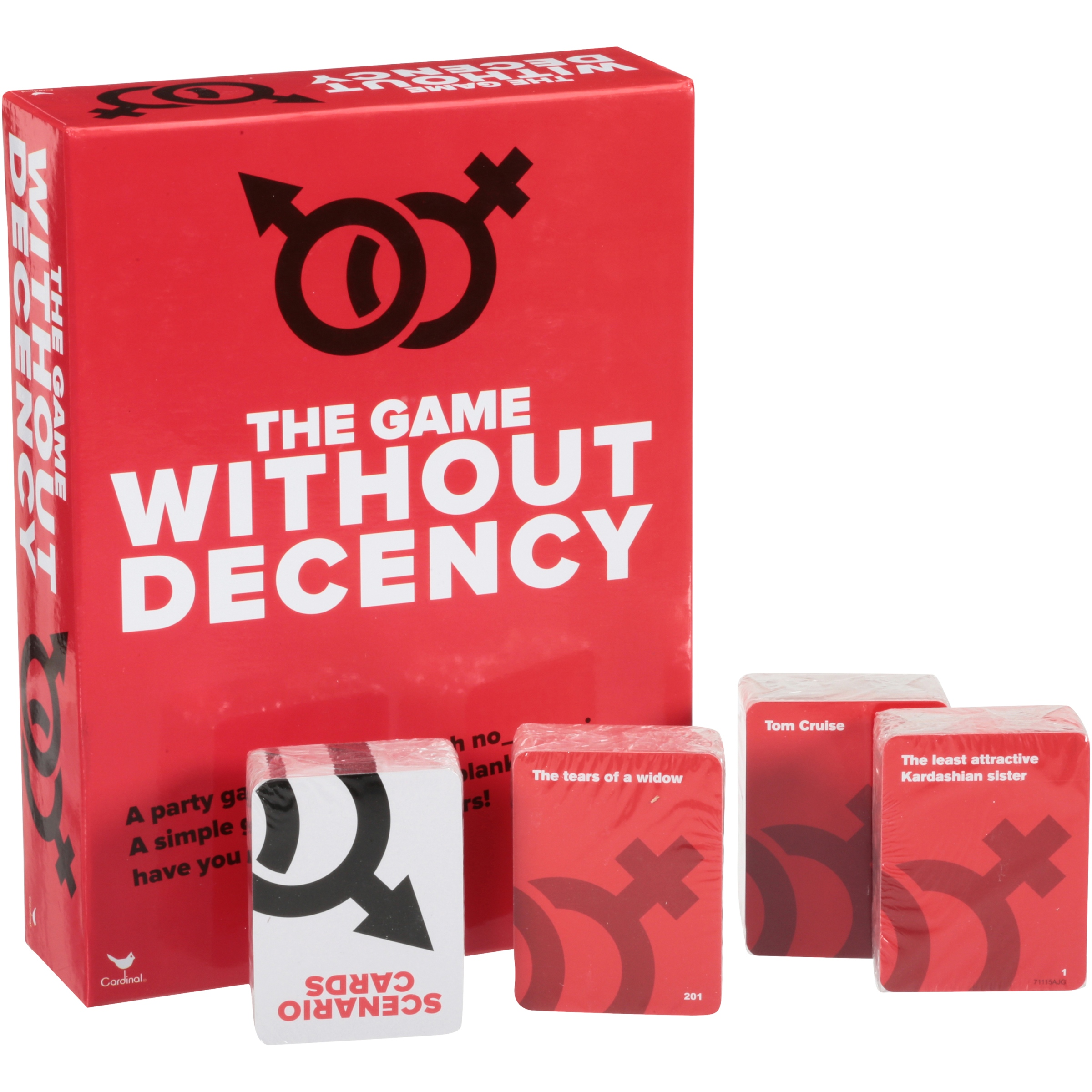 <p>Cardinal® The Game Without Decency Game Box</p>