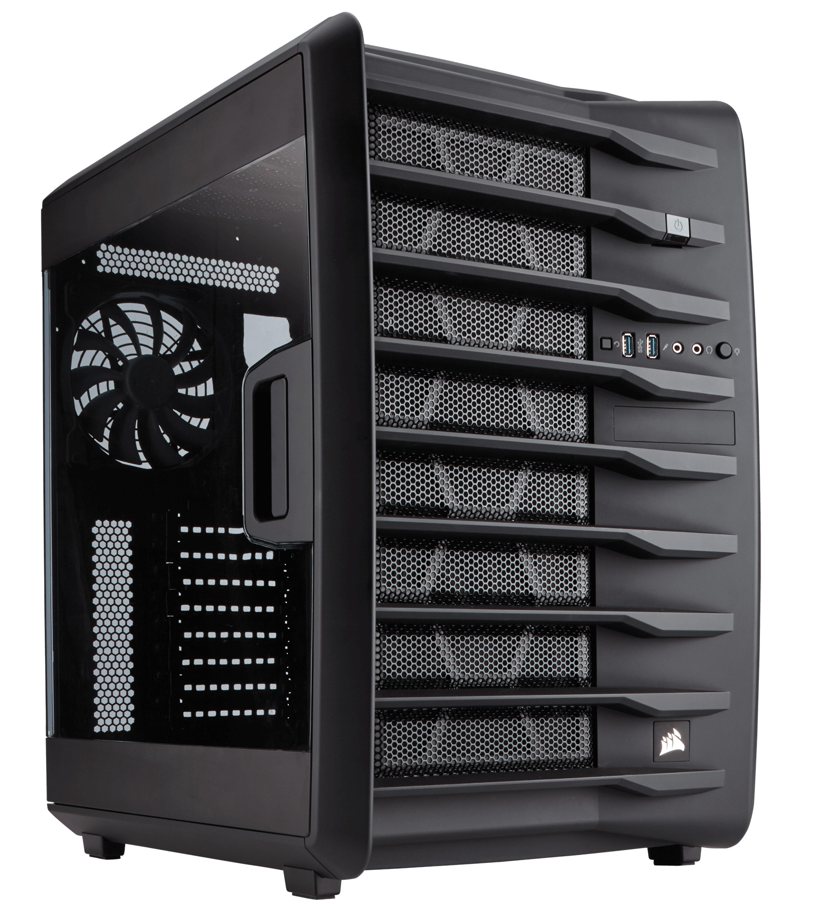 Corsair Carbide Series Air 740 - High Airflow ATX Cube Case (CC-9011096-WW) - CC-9011096-WW