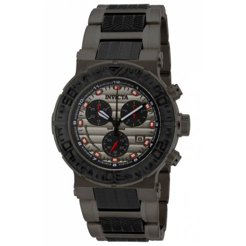 Invicta Men's 16865 Ocean Reef Quartz Chronograph Black, ...