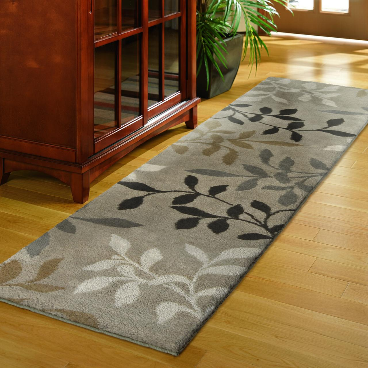 "Orian Melrose Fleece Runner Rug, 1'11"" x 7'5"""