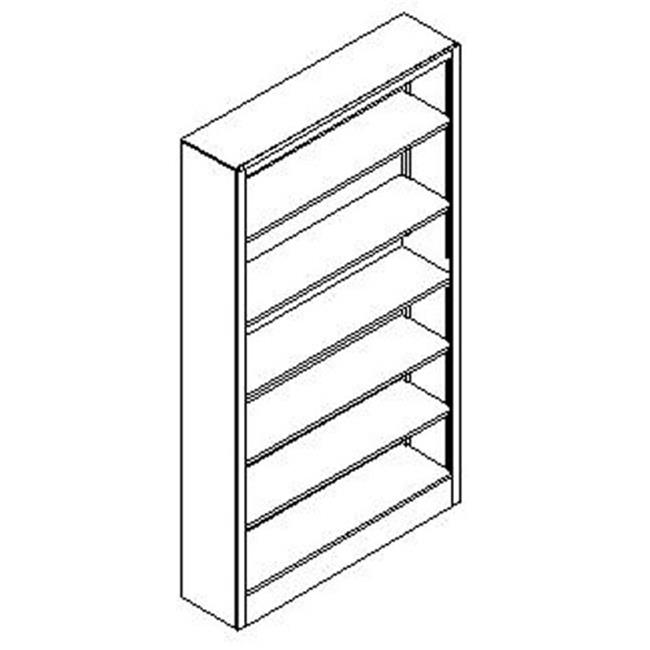 Diversified Woodcrafts Open Shelf Floor Unit - Maple - OS-1419