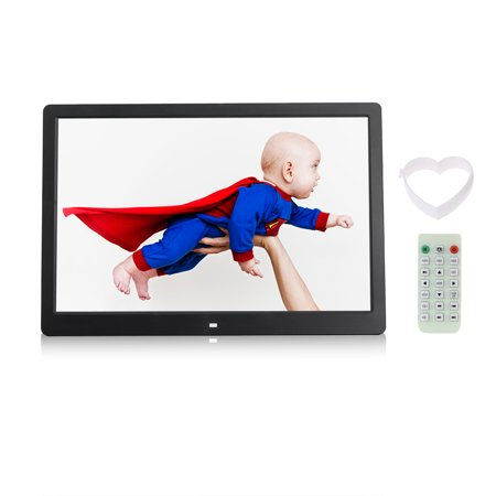 - Andoer 15.6 Inch 1080P LED Digital Photo Picture Frame High Resolution 1920*1080 Advertising Machine MP3 MP4 Movie Picture Player Electronic Clock /Alarm Clock/ Calendar Functions