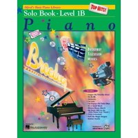 Alfred's Basic Piano Library Top Hits! Solo Book, Bk 1b (Paperback)