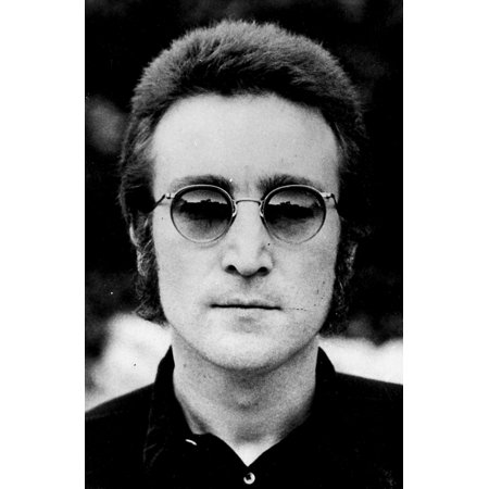 0211ce5394a1b John Lennon with Glasses Photo Print - Walmart.com