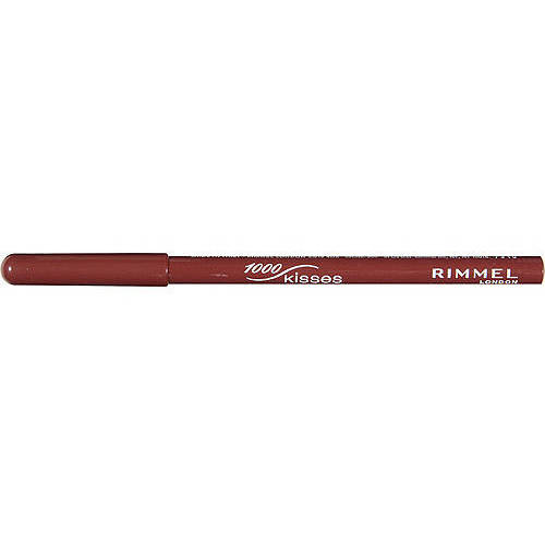 Rimmel London 1000 Kisses Stay On Lip Liner Pencil, 045 Cafe Au Lait, 0.04 oz