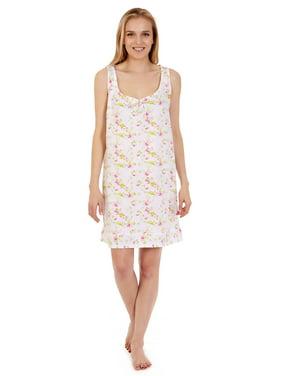 434a7d478 Product Image 904 Womens Nightgown Sleepwear Cotton Pajamas - Woman  Sleeveless Sleep Dress Nightshirt Purple M