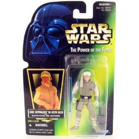 Luke Skywalker Action Figure Hoth Gear Star Wars