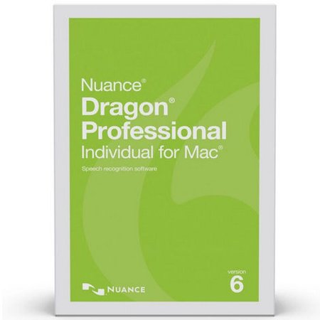 Nuance S601a F00 6 0 Dragon Professional Individual For Mac Academic Version 6 Speech Recognition Software