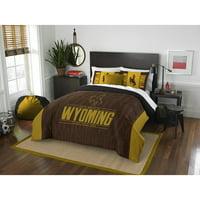 """NCAA Wyoming Cowboys """"Modern Take"""" Bedding Comforter Set"""