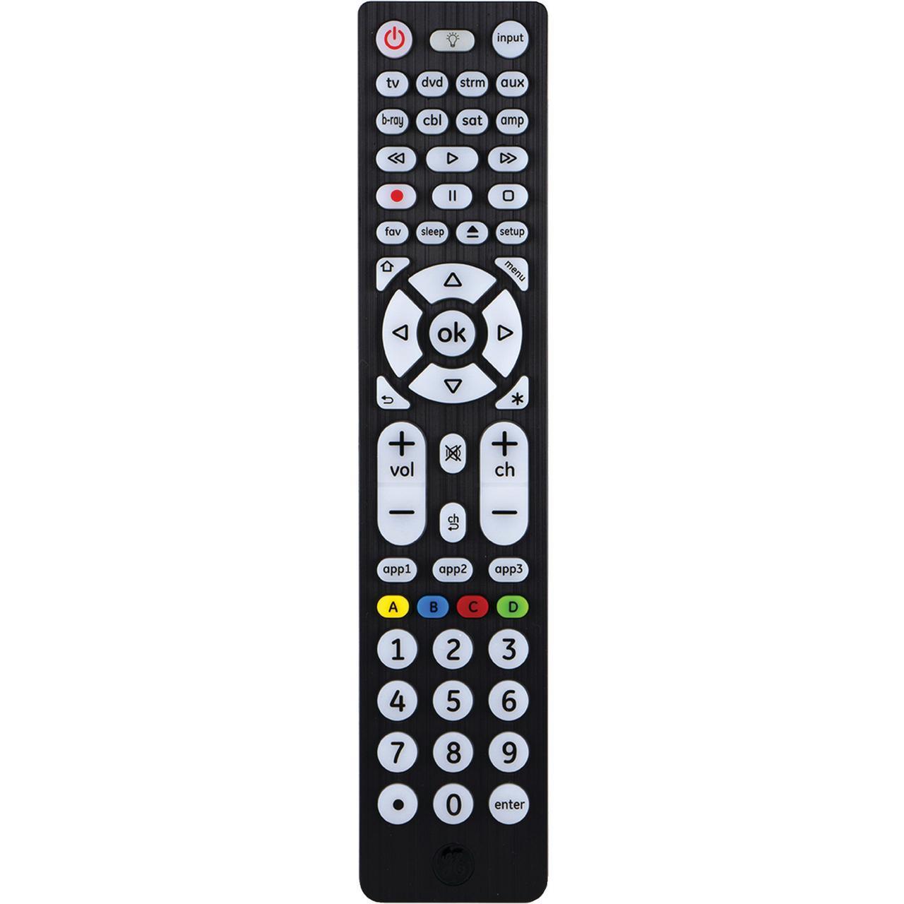 Ge 37123 8 Device Streaming Universal Remote Walmart Com