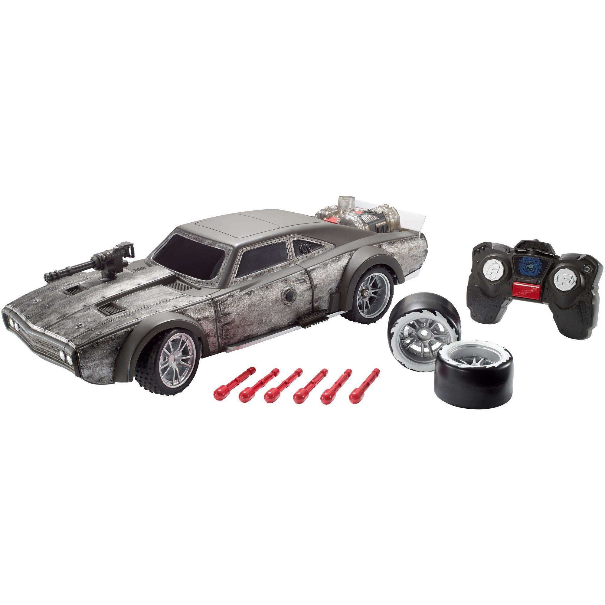 Fast & Furious Dom's Blast & Burn RC Dodge Ice Charger Vehicle