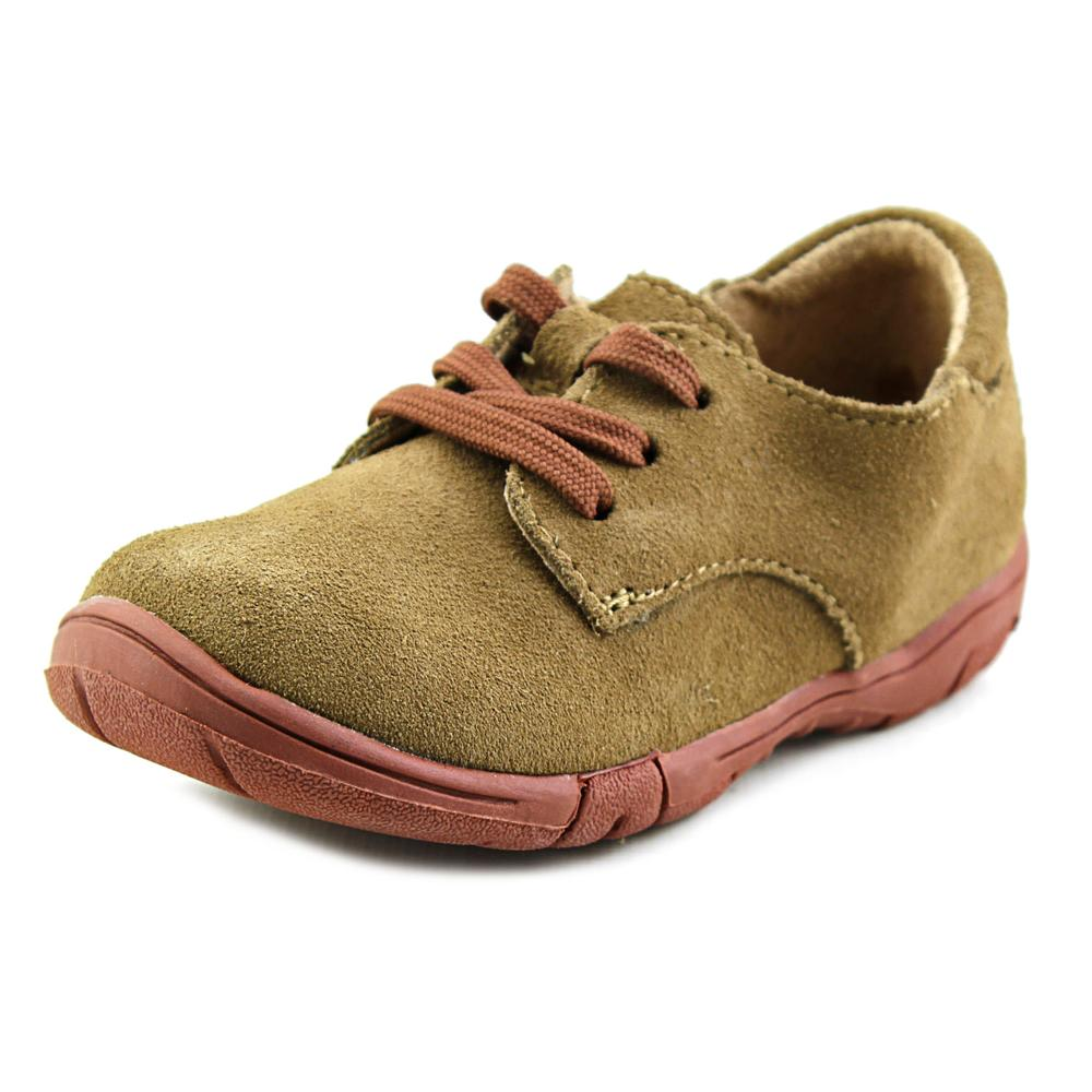 Jumping Jacks Oxford Toddler  Round Toe Suede Brown Oxford