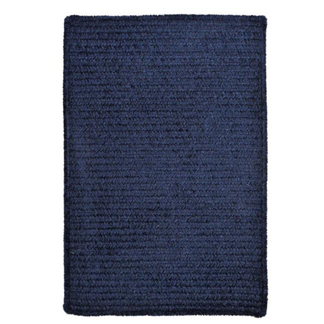 Colonial Mills M503R048X072S Simple Chenille - Navy 4 ft.  x 6 ft.   Rug