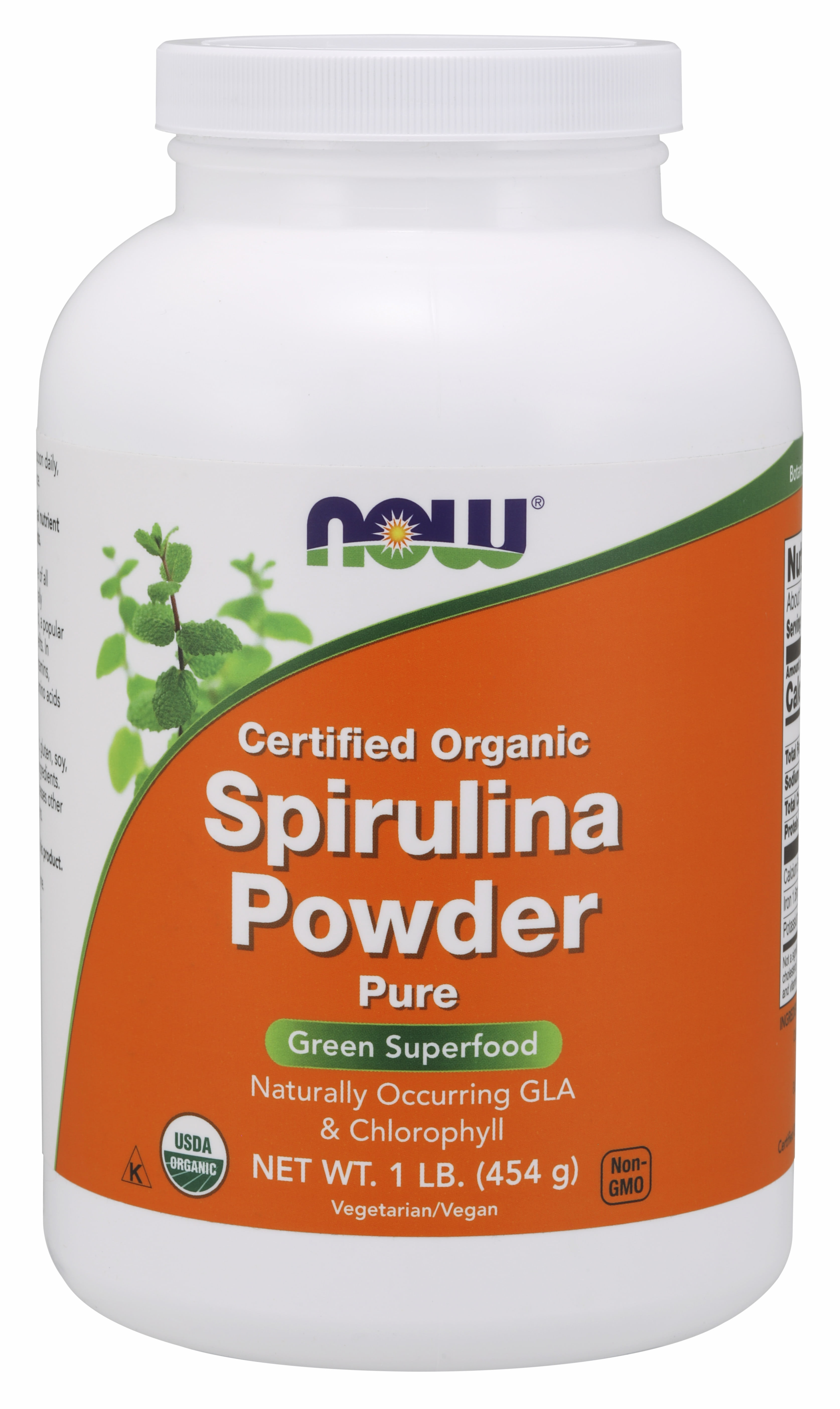 Organic Spirulina Powder Organic Certified High in Protein and B Vitamins