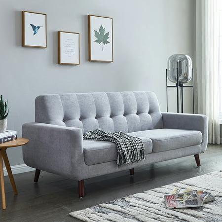 Gray Mid Century Modern Sofa, 79\