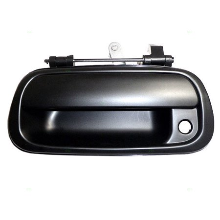 BROCK Tailgate Liftgate Handle Smooth w/ Keyhole Replacement for 00-06 Toyota Tundra Pickup Truck 690900C030C0