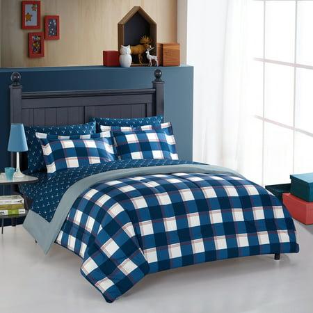 american original hunter plaid bed in a bag. Black Bedroom Furniture Sets. Home Design Ideas