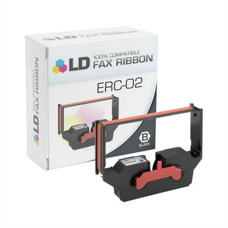 LD Compatible Printer Ribbon Cartridge Replacement for Epson ERC-02 (Black & (Best Epson Ld Products Ld Products Home Inkjet Printers)