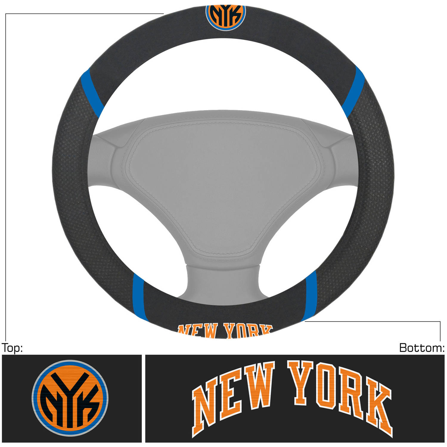 NBA New York Knicks Steering Wheel Cover