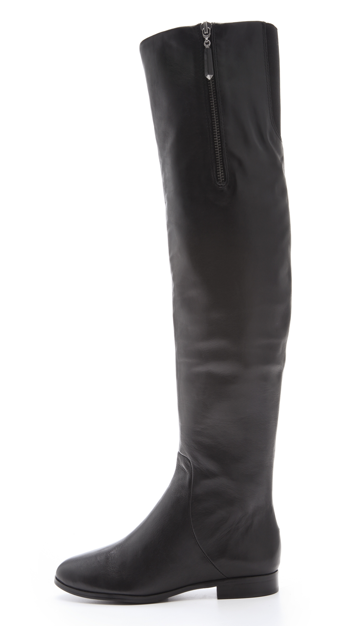 Juicy Couture Womens Morell Leather Closed Toe Over Knee Fashion Boots by Juicy Couture