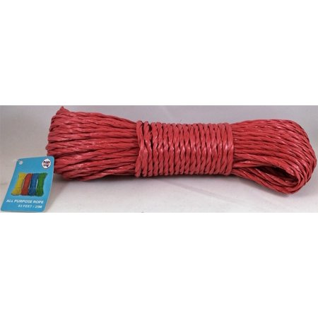 Pride 83 feet All Purpose Rope (Red) (Red Ropes)