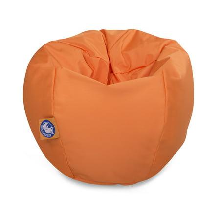 Drift and Escape Stratus Bean Bag Swimming Pool Float in Orange, Nylon (Pool Bean Bag)