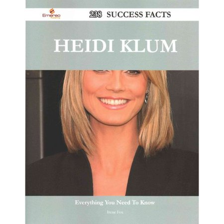 Heidi Klum  238 Success Facts   Everything You Need To Know About Heidi Klum