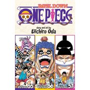 One Piece (Omnibus Edition), Vol. 19 : Includes vols. 55, 56 & 57