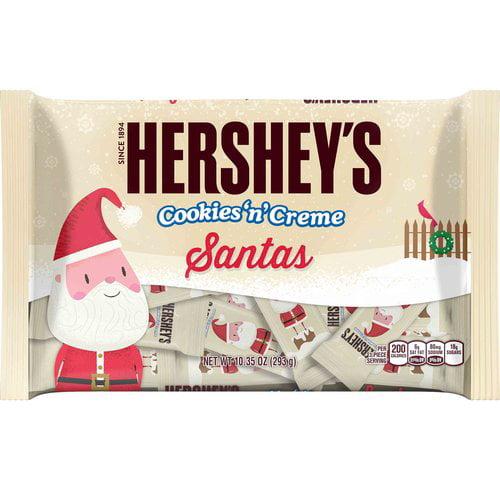 Hershey's Holiday Cookies 'N' Cream Santas, 10.35 oz