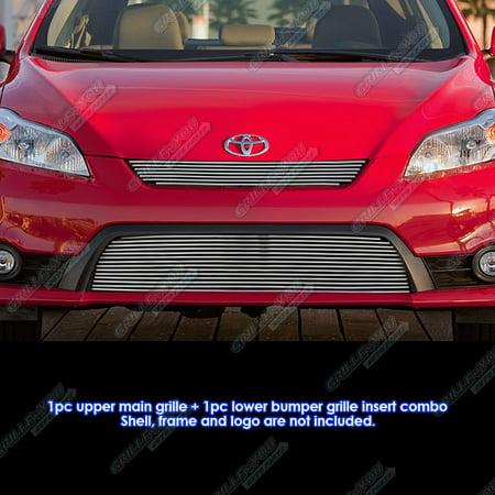 Fits 2011 2014 Toyota Matrix S Xrs Xr Billet Grille Grill Insert Combo  T61222a