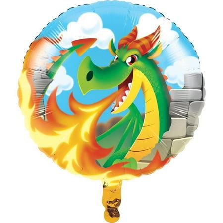 Dragons Metallic Balloon 18 - Dragon Balloons