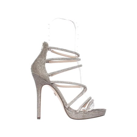 b8904294b Womens Nina Finessa Strappy Evening Sandals, Latte Dreamland - image 1 of 6  ...