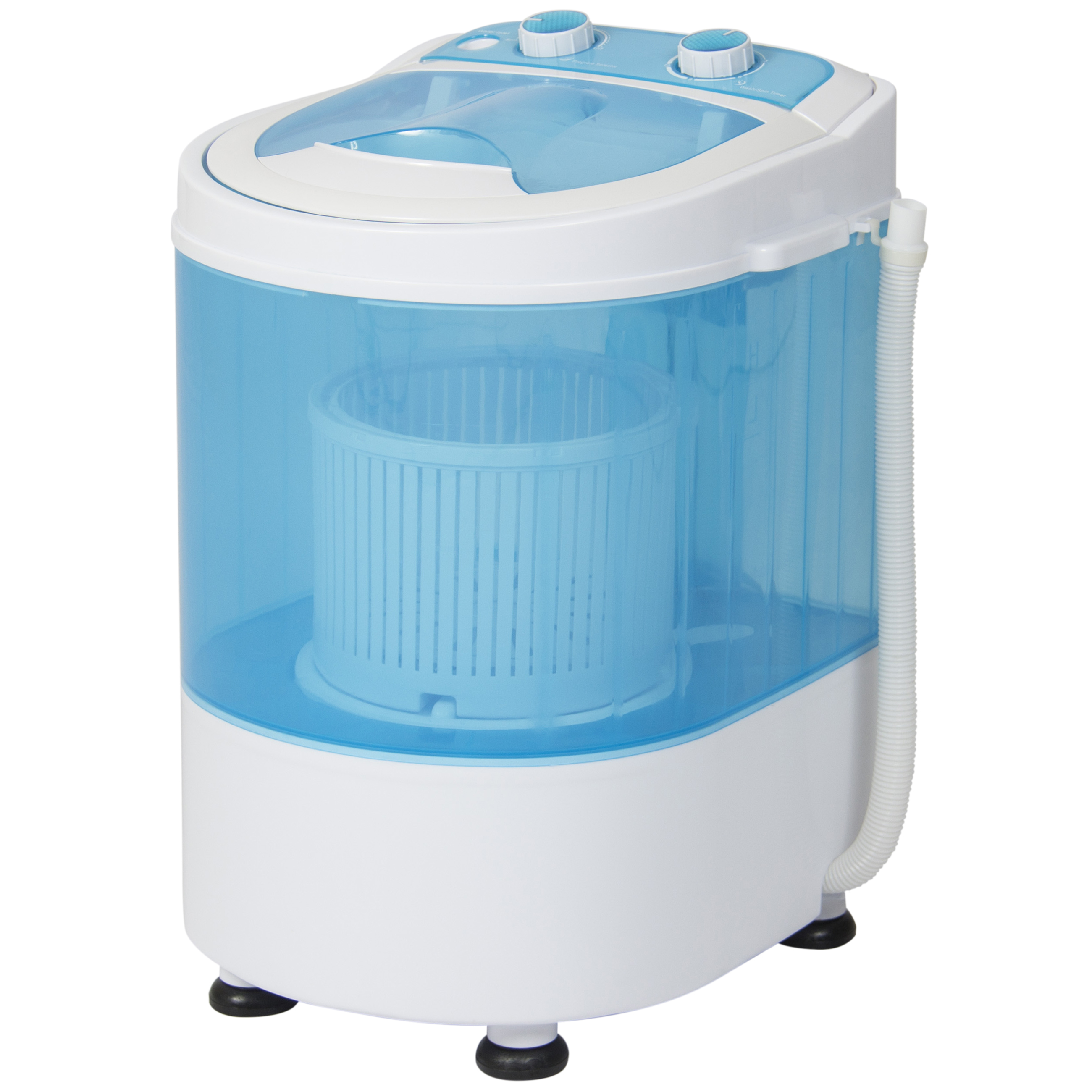 Best Choice Products Portable Mini Washing Machine Spin Cycle W/ Basket, Drainage