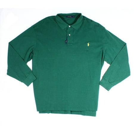 Polo Ralph Lauren New Green Mens Size Big 2x Polo Long