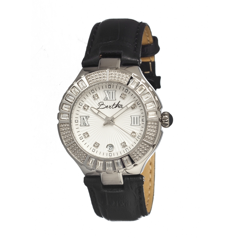 Bertha Br1701 Evelyn Ladies Watch