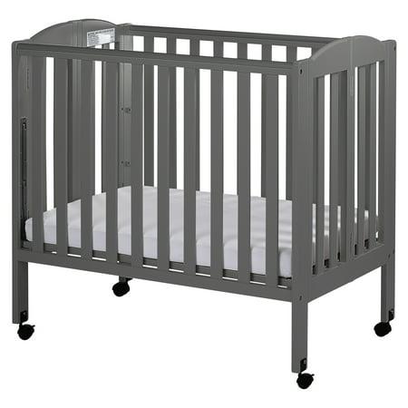 Dream On Me 3-in-1 Portable Crib Gray