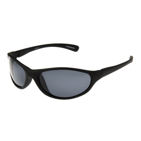 Foster Grant Men's Black Oval Sunglasses (Mens Sungalsses)