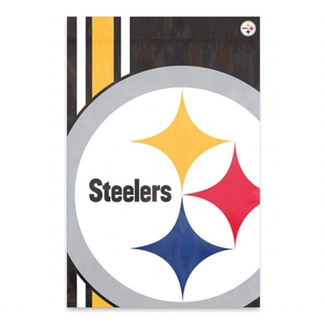 Party Animal PAR-BLST Pittsburgh Steelers NFL Bold Logo Banners, 2 x 3 ft.