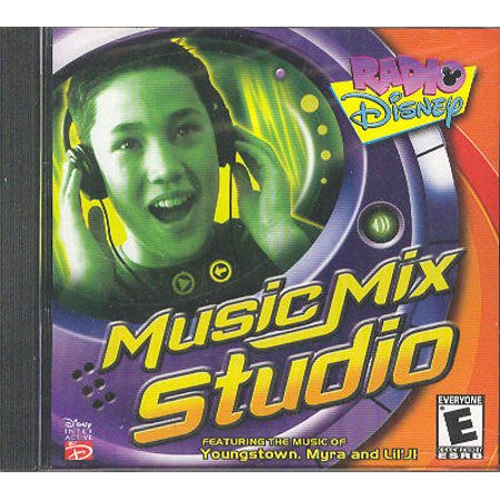 Radio Disney MUSIC MIX STUDIO Software for Kids - Record & Mix Your Own Songs