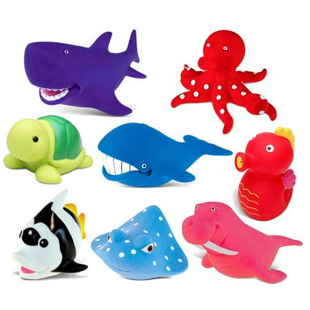 Toddler Bathtime Learning Toy Dollibu Bath Buddies Ocean ...