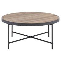 ACME Bage Coffee Table, Weathered Gray Oak