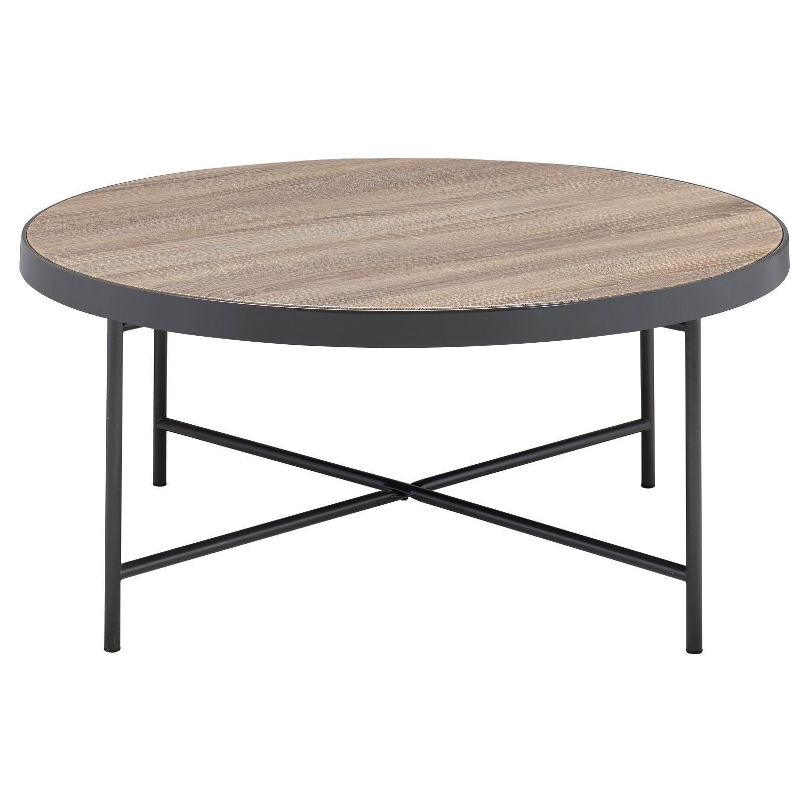 ACME Bage Coffee Table, Weathered Gray Oak