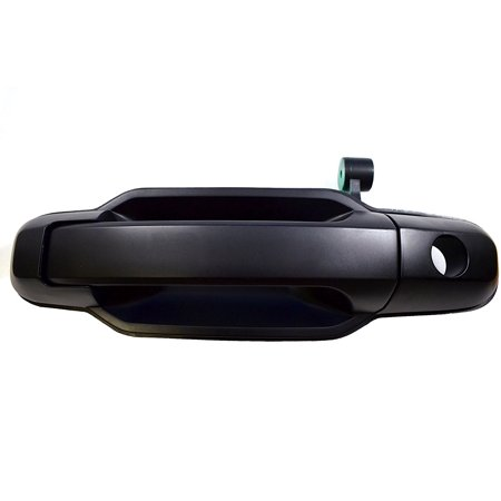 KI-3550P-FL - Outside Exterior Outer Door Handle, Primed Black - Driver Side Front, Driver Side, Front By PT Auto Warehouse Door Handle Exterior Front