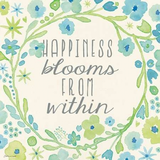 Happiness Blooms Poster Print by  Stephanie Marrott
