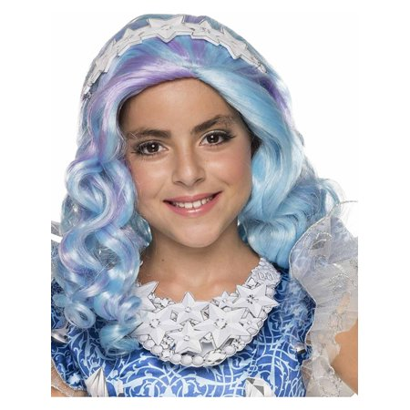 Girls Ever After High Farrah Good Fairy Wig With Headpiece Costume Accessory