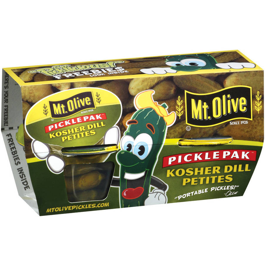 Mt. Olive Kosher Dill Petites Pickle Pak, 4pk
