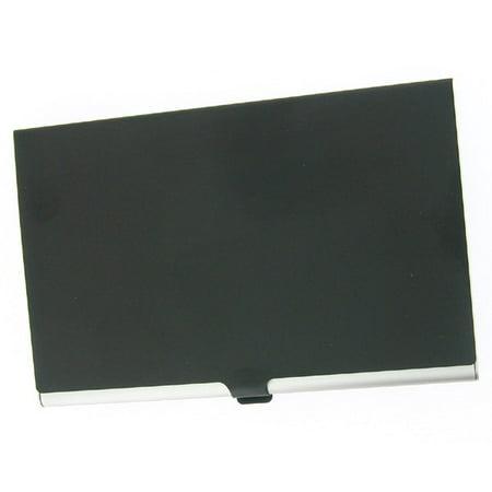 Aluminum Business Case (Visol  Black Cover Aluminum Business Card Case)