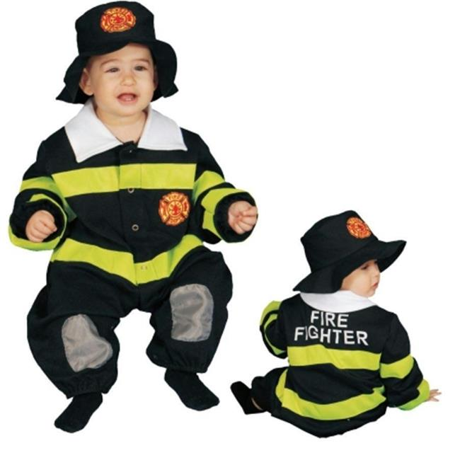 Costumes For All Occasions Up297 Baby Firefighter Bunting