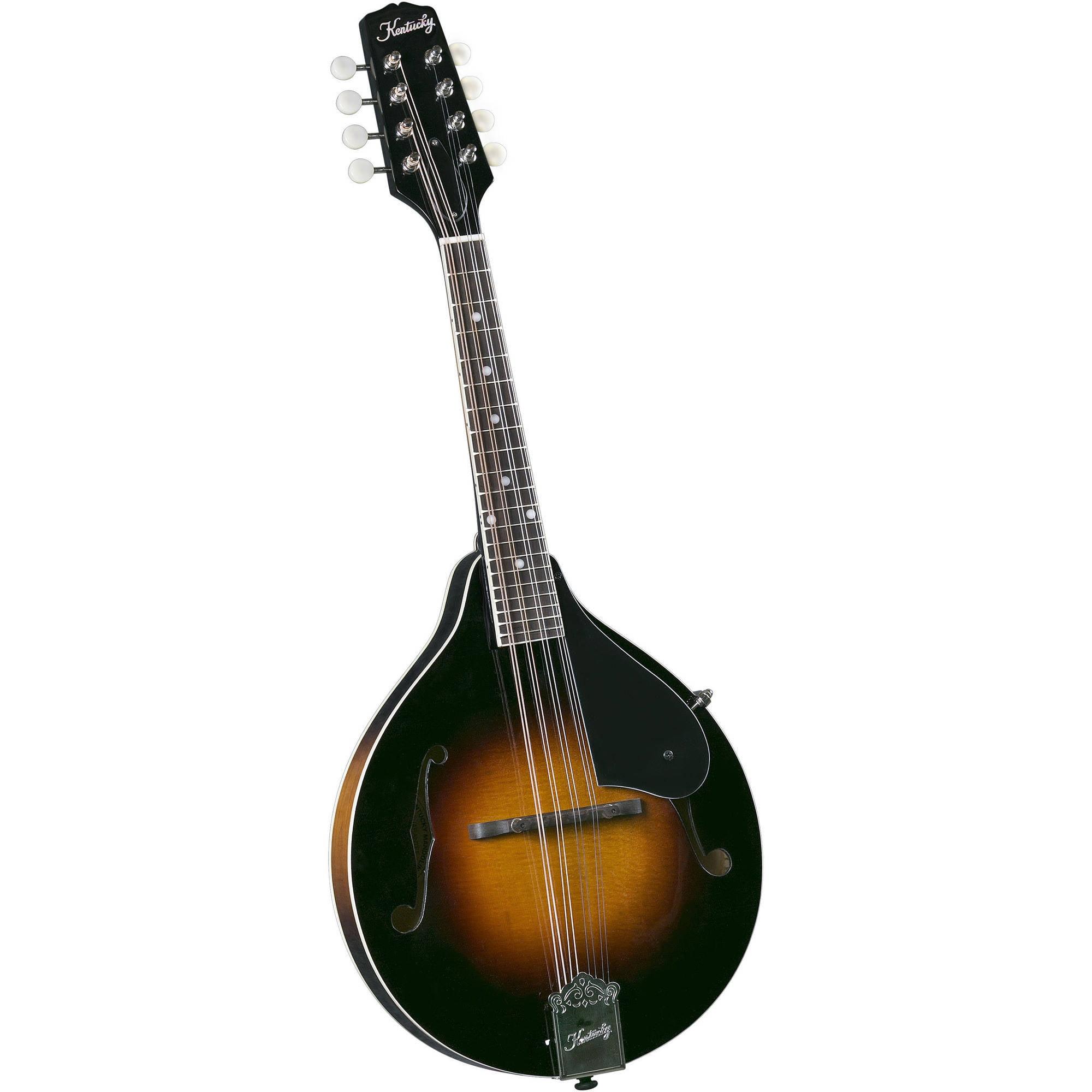 Kentucky KM-140 Standard A-Model Mandolin, Sunburst by Kentucky
