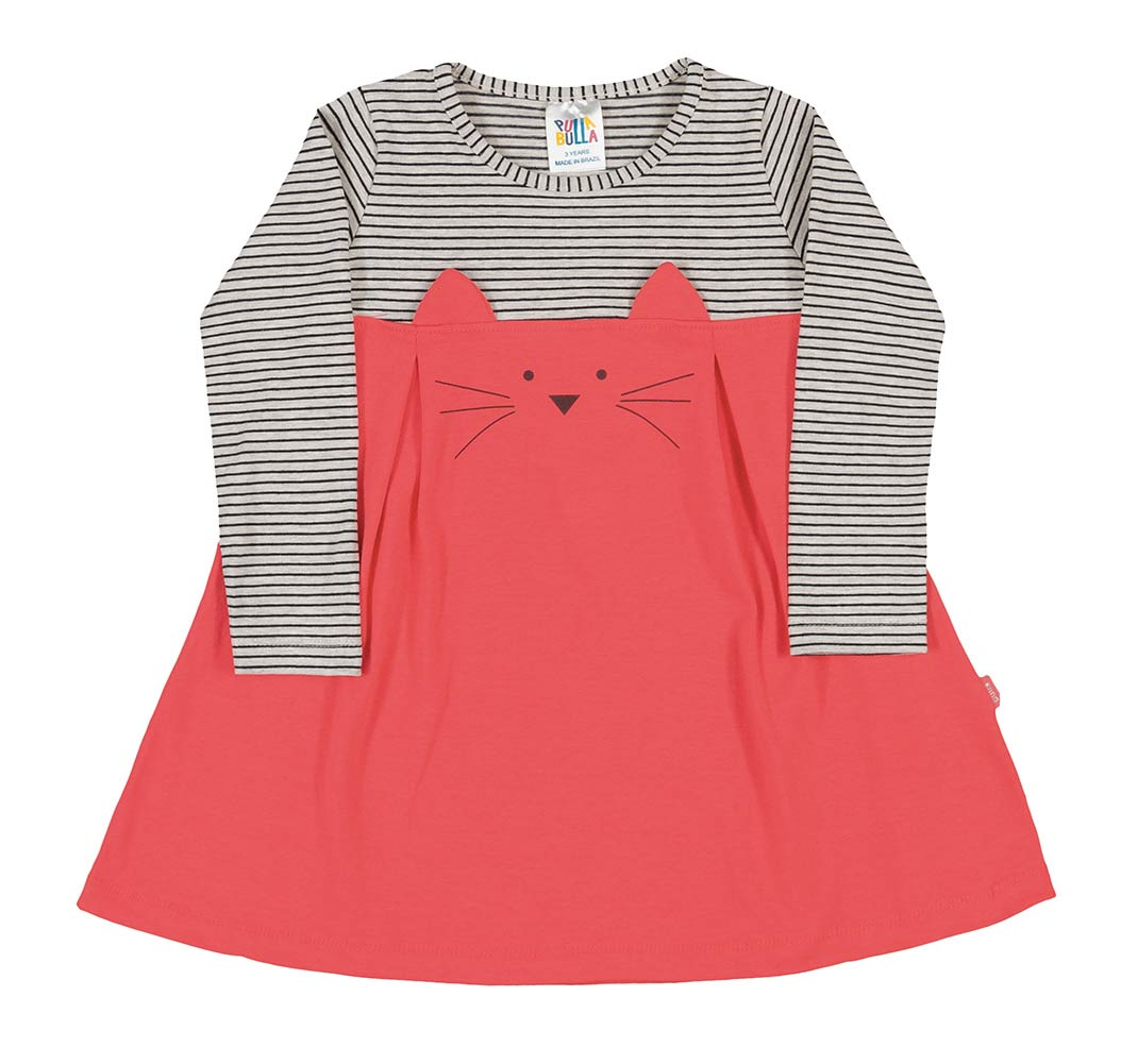 Pulla Bulla Toddler girl long sleeve dress ages 1-3 years
